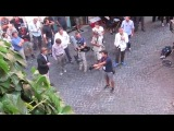 Woody Allen filming To Rome with Love in Monti